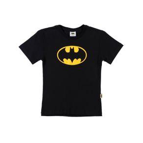 Camiseta Manga Curta Batman Infantil para Menino - Preto 1