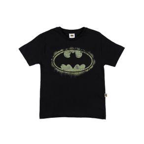 Camiseta Manga Curta Batman Infantil para Menino - Preto 8