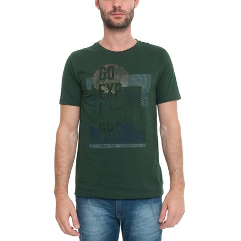 Camiseta Manga Curta Go Explore - Tam G