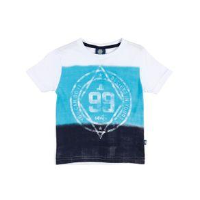 Camiseta Manga Curta Infantil para Menino - Branco Camiseta Manga Curta Infantil para Menino Branco 4