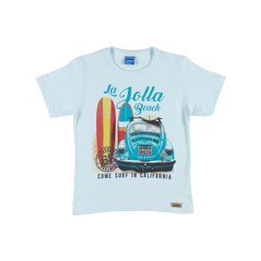 Camiseta Manga Curta Infantil para Menino - Verde 8