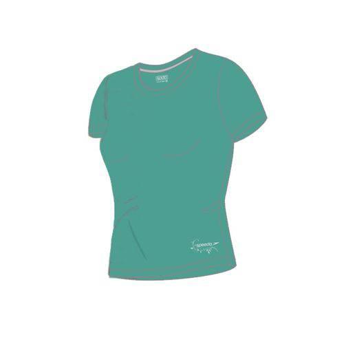 Camiseta Manga Curta Interlock UV 50 Speedo Feminina 71337Q