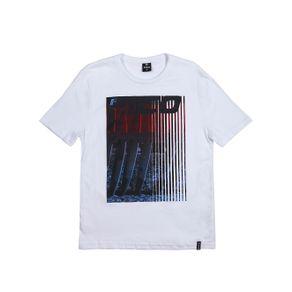 Camiseta Manga Curta Juvenil para Menino - Branco 18