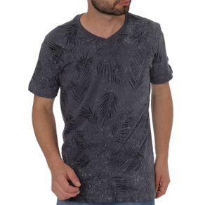 Camiseta Manga Curta Masculina Dixie Azul G