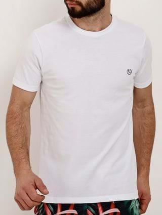 Camiseta Manga Curta Masculina Fido Dido Branco