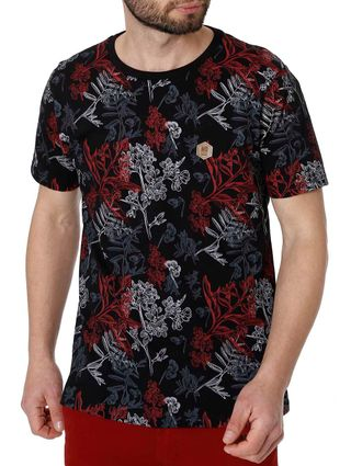 Camiseta Manga Curta Masculina no Stress Preto
