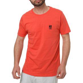 Camiseta Manga Curta Masculina no Stress Salmão P