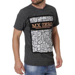 Camiseta Manga Curta Masculina Preto G