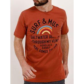 Camiseta Manga Curta Masculina Telha P