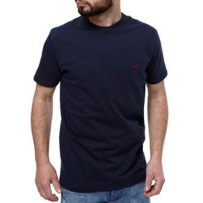 Camiseta Manga Curta Masculina Vels Azul Marinho G