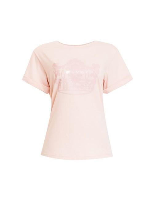 Camiseta Manga Curta Nude Tamanho G