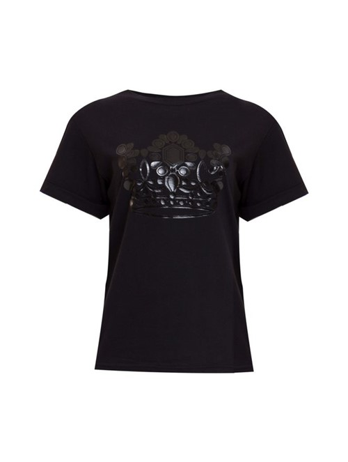 Camiseta Manga Curta Preta Tamanho M