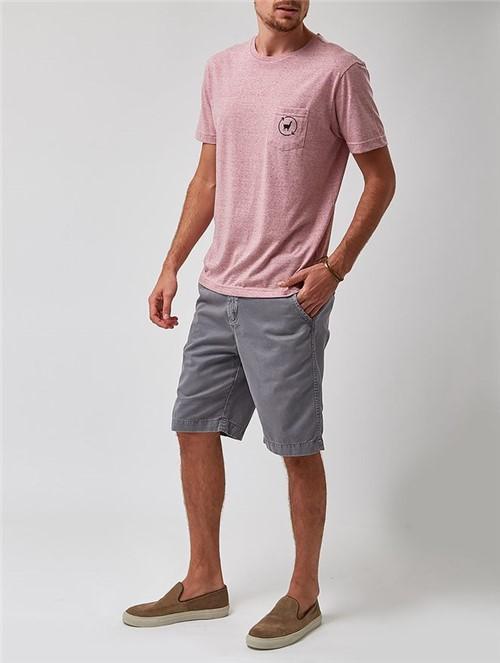 Camiseta Manga Curta Rosa Tamanho P