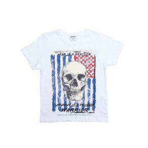 Camiseta Manga Curta Rovitex Infantil para Menino - Branco 8