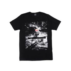 Camiseta Manga Curta Rovitex Juvenil para Menino - Preto 18