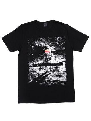 Camiseta Manga Curta Rovitex Juvenil para Menino - Preto