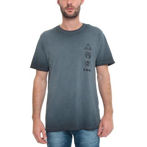 Camiseta Manga Curta Washed Army - Tam G
