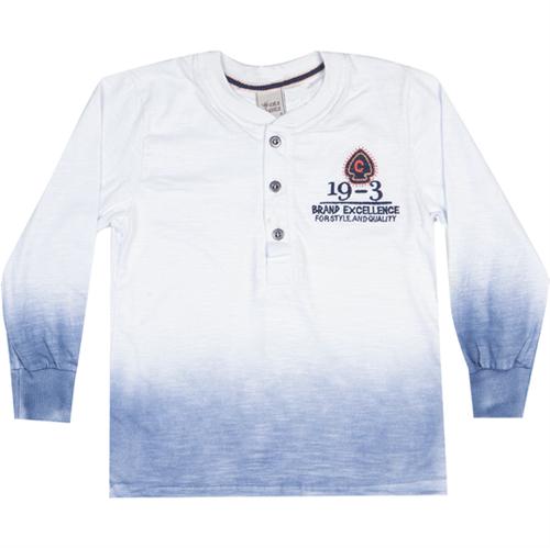 Camiseta Manga Longa 06629 14 Branco