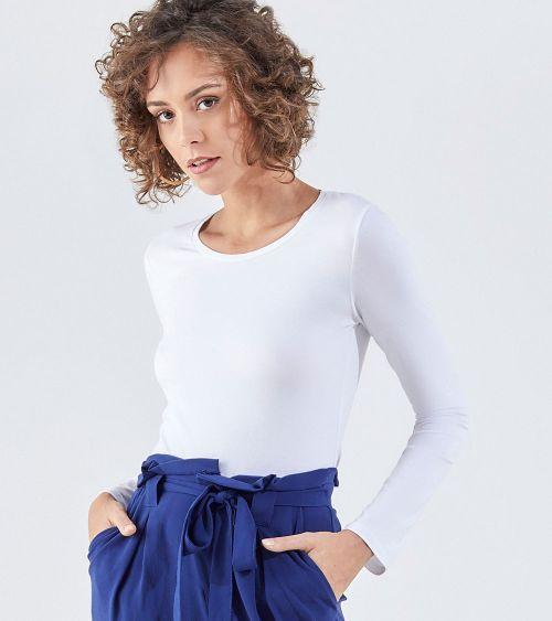 Camiseta Manga Longa 21030 Branco - G