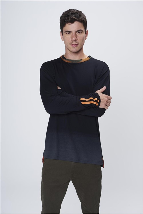Camiseta Manga Longa Masculina