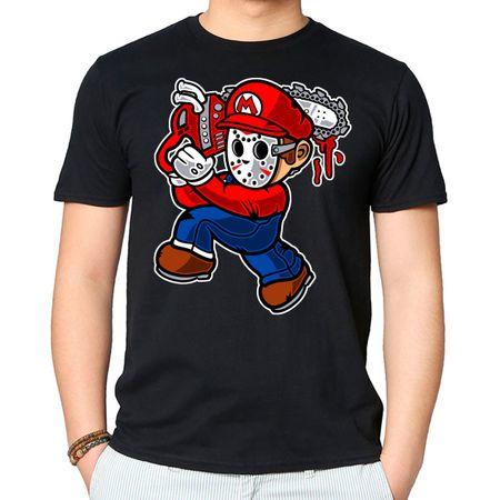 Camiseta Mario Massacre P - PRETO