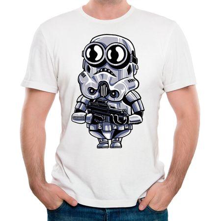 Camiseta Minion Trooper P - BRANCO