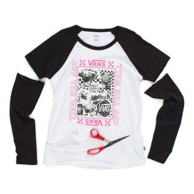 Camiseta Ml Lady Vans Sting - G