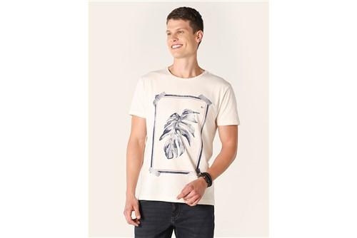 Camiseta Moldura Adão - Off White - P