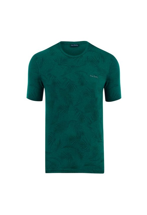 Camiseta Moline Full Print Green Tropical P
