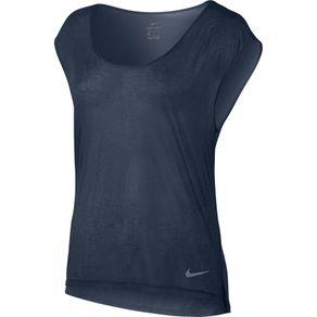Camiseta Nike Breathe Marinho Feminina M