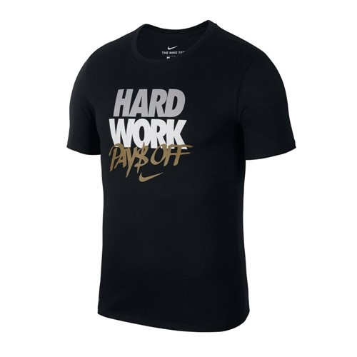 Camiseta Nike Dry Tee Hard Work 924241-010 924241010