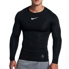 Camiseta Nike Ml Compreensao Preta Masculino G