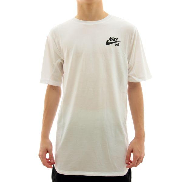 Camiseta Nike SB Basic White (P)