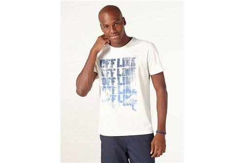 Camiseta Offline - Off White - G