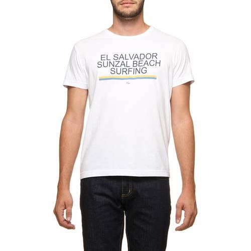Camiseta Pipe Sulzal Surfing Branco M
