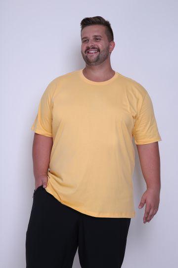 Camiseta Plus Basica Amarelo P