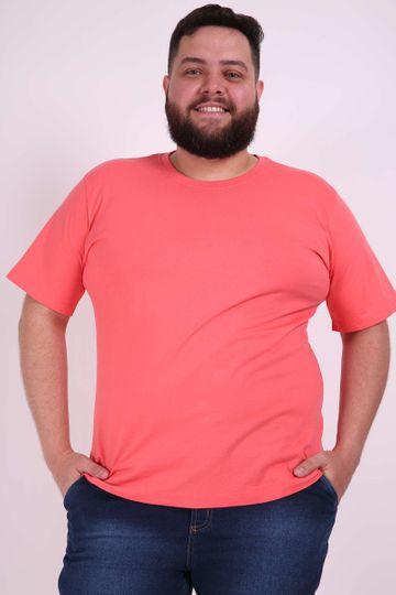 Camiseta Plus Basica Coral P