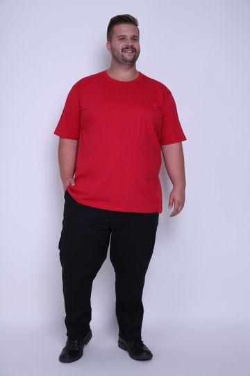 Camiseta Plus Basica Vermelho P