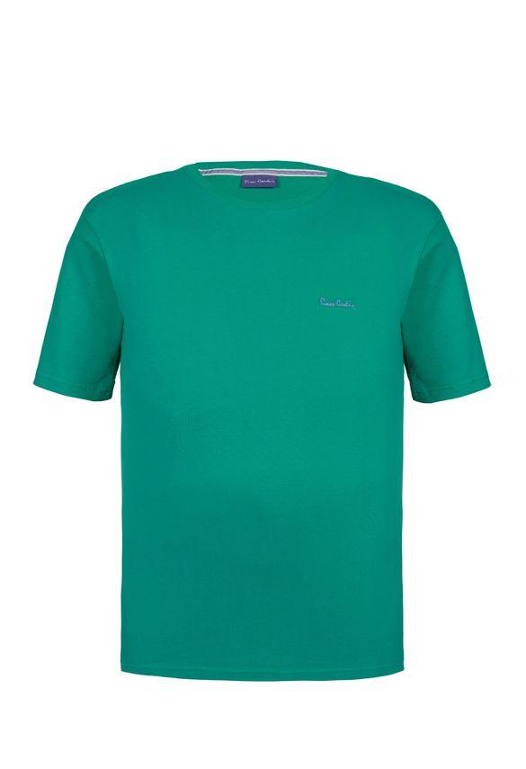Camiseta Plus Size Basic Verde 7