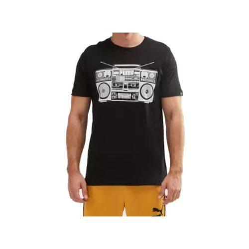 Camiseta Puma Cotton Black 59488101