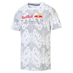 Camiseta Puma Rbr Aop Tee Night Branco GG