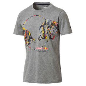 Camiseta Puma Rbr Double Bull Cinza G