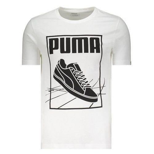 Camiseta Puma Track Branca - Puma