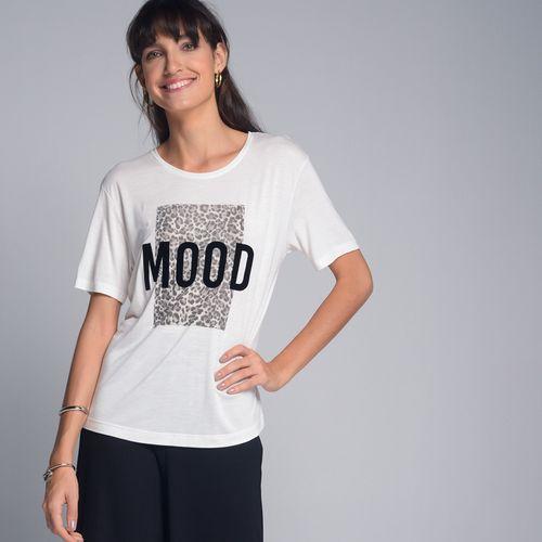Camiseta Quadricromia Bicho Off White - GG