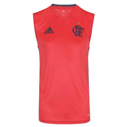 Camiseta Regata de Treino Flamengo Adidas 2016 - M