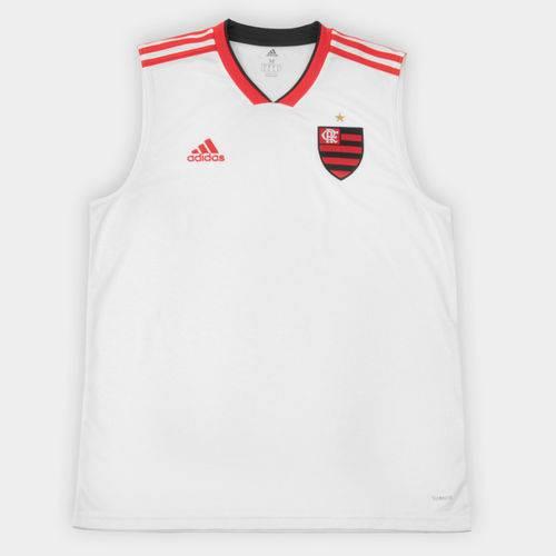 Camiseta Regata Flamengo Adidas II 2018 2019 CF9028