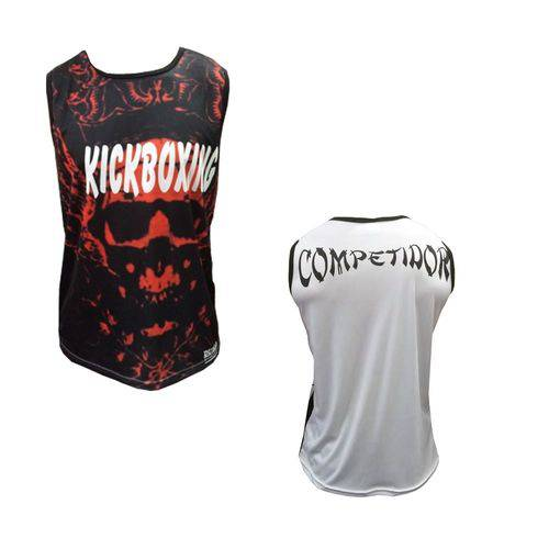 Camiseta/Regata - Kickboxing- Blood - Duelo Fight .
