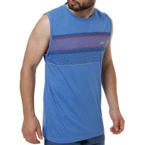 Camiseta Regata Masculina Azul G