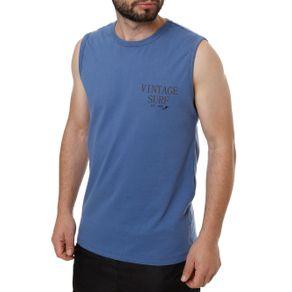 Camiseta Regata Masculina Azul P