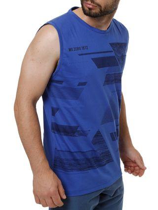 Camiseta Regata Masculina Azul
